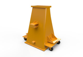 Inovaus | Mining | Axle Stand Front-01