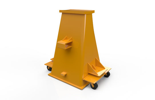 Inovaus   Mining   Axle Stand Front-01