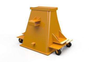 Inovaus | Mining | Axle Stand Rear-01