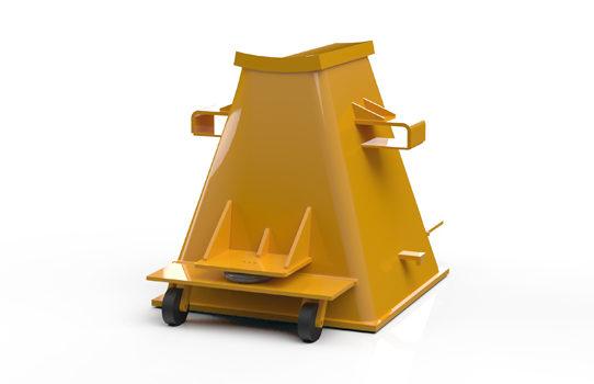 Inovaus | Mining | Axle Stand Rear-02