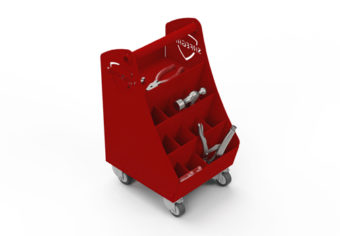 Inovaus | Equine | Farrier Tool Cart-01